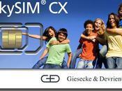 Transacciones móviles cómodas orientadas futuro SkySIM Hercules G&D, integrada formato plug-in