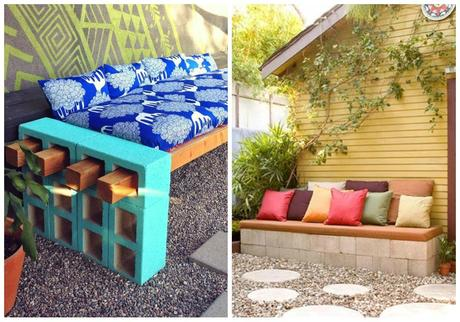 Muebles con bloques de hormig n paperblog for Bloques cemento para jardin