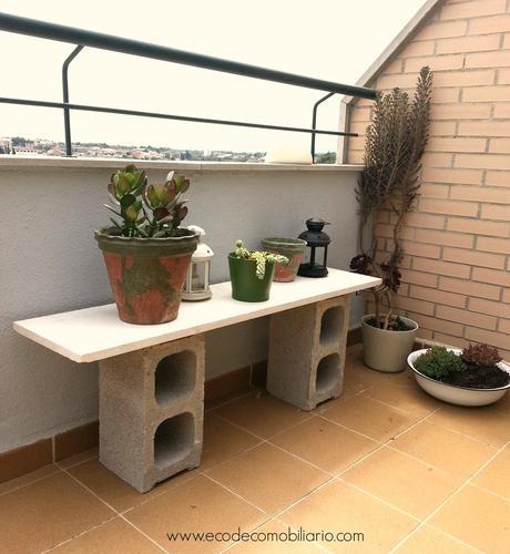 Muebles con bloques de hormig n paperblog - Muebles con ladrillos ...