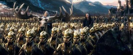 El Hobbit: La Batalla de los Cinco Ejércitos, thranduil, bardo, lee pace, luke evans, tolkien, hobbit, el zorro con gafas