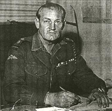 """Teniente Coronel John """"Mad Jack"""" Churchill"""