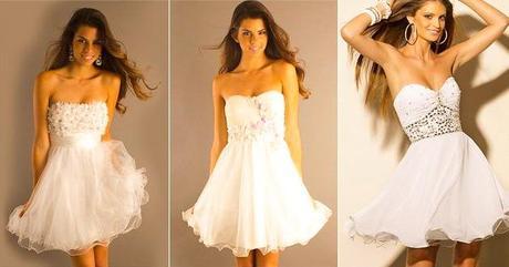 Modelos de vestidos de novia por el civil