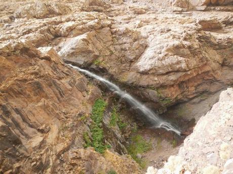 Cascada de Ighouliden. Valle de Azzaden (Marruecos)