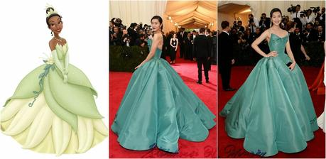 TRENDY. DISNEY PRINCESSES AT THE RED CARPET