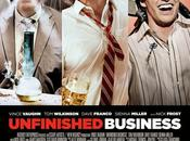 "Nuevo póster ""unfinished business"""