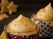 Cupcakes jengibre frosting canela... galletas!! #cupcakesXnavidad parte.