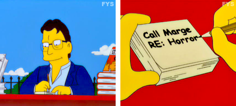 Stephen King The Simpsons cameo