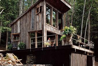 Caba as r sticas peque as paperblog - Cabanas de madera pequenas ...