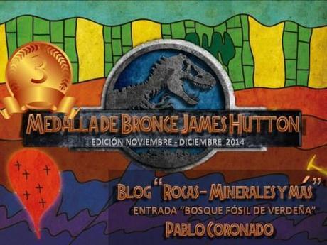 Medalla de Bronce-Pablo C_X Carnaval de Geología