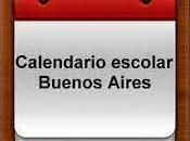 Calendario Escolar Buenos Aires. 2015