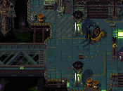 Tower57, pixelart alto copete jugabilidad Chaos Engine