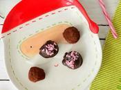 Recetas frugales: Bolitas coco cubiertas chocolate menta