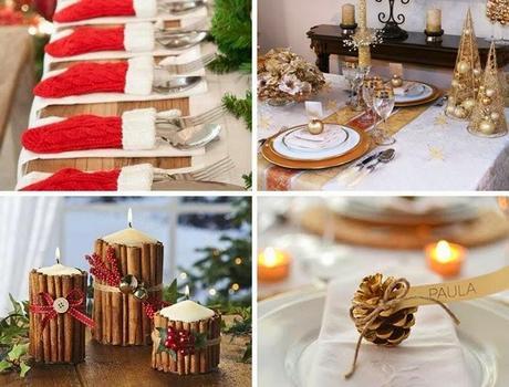 Deco poner la mesa en navidad paperblog for Como poner una mesa bonita