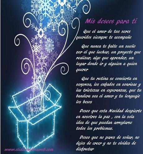 Mis mejores deseos para ti en navidad paperblog - Deseos para la navidad ...