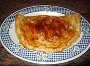 Empanada setas jamón