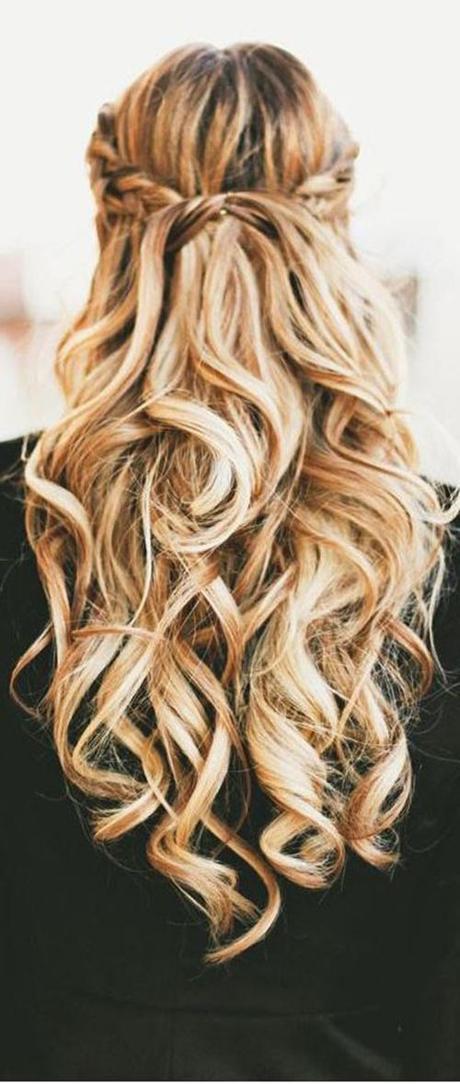 Peinados Cabello Largo Ondulado Con Trenzas Peinados Y Peinados De
