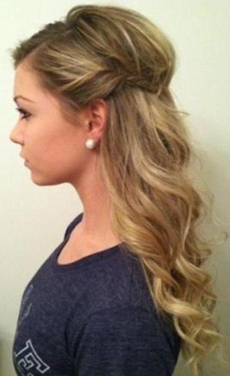 Peinados Cabello Suelto Ondulado Largo Peinados Con Trenzas