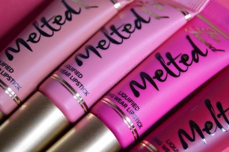 Melted Kisses: The ultimate Liquified Long Wear Lipstick Set de Too Faced