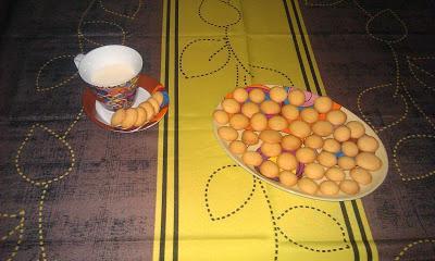 Pedos de monja, un dulce ideal para acompañar un café en días de lluvia