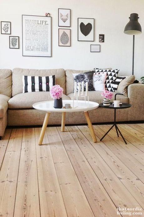 Ideas deco 6 ideas para decorar la pared del sof paperblog - Que cuadros poner en el salon ...