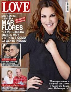 mar flores portada revista love