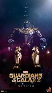 Figura Hot Toys del Thanos de Guardianes de la Galaxia