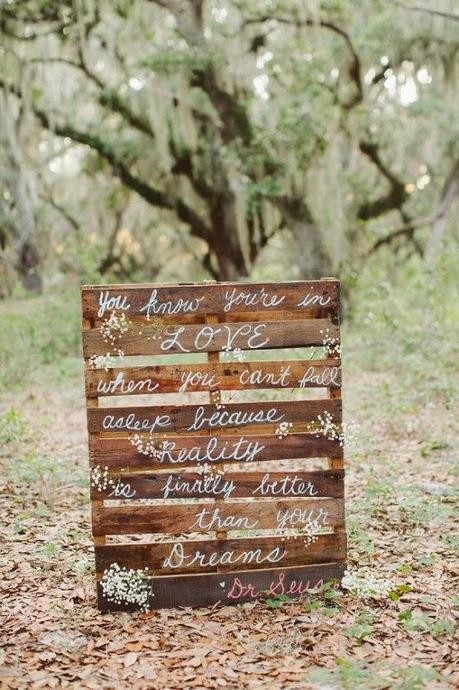 Decora tu boda con palets