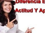 Diferencia entre actitud aptitud
