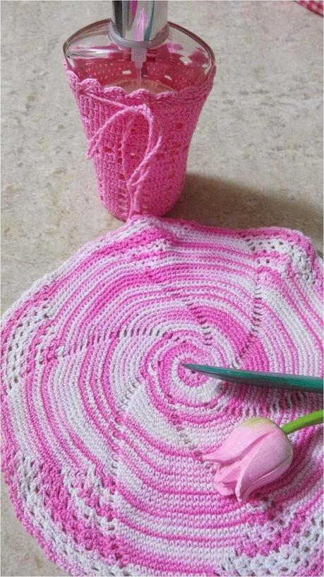 Dar un toque shabby chic tejiendo envolturas con ganchillo (A shabby ...