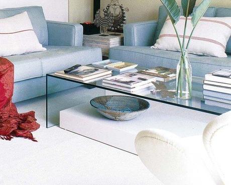 Mesas de centro de cristal para tu sal n paperblog for Mesas de cristal para salon