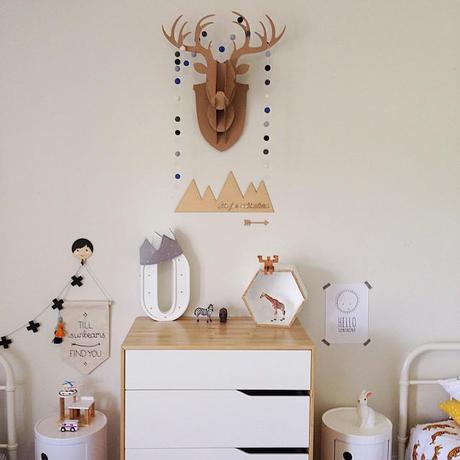 letras luminosas para decorar habitación niños