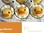Convierte huevo duro divertido pollito