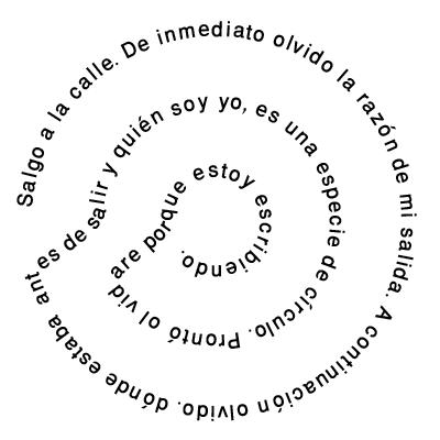 Trabajos tipo caligrama paperblog for Tipos de vanguardias
