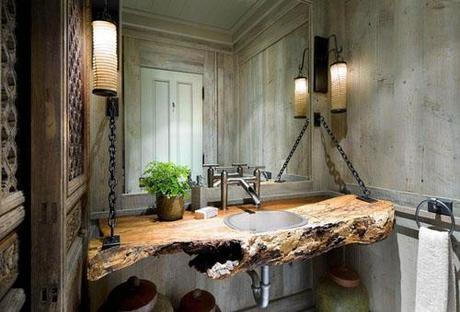 Ideas Para Decorar Baño Casa De Campo Paperblog