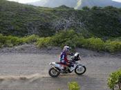 debutante Walkner atrapó tercera etapa motos