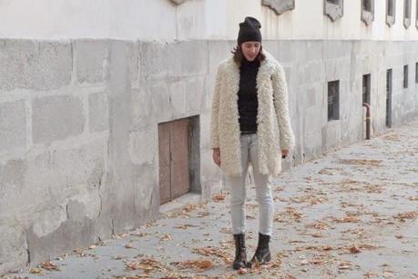 Un abrigo de oveja para los dias de frio