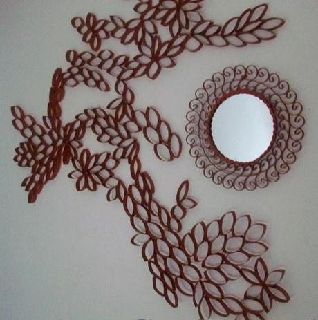 Otro proyecto con el cartón del papel higiénico