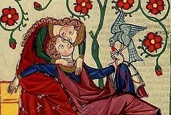 Enamorados en la Edad Media
