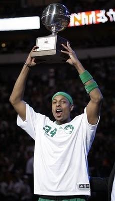 Paul Pierce vencedor del concurso de triples