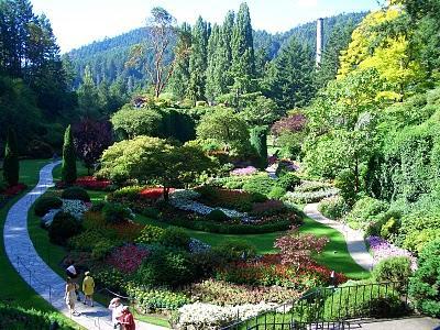 Los jardines butchart paperblog for Jardines butchart