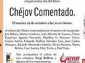 """Presentación libro """"CHÉJOV COMENTADO"""""""