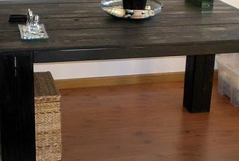 La mesa de comedor de palets de carlos paperblog for Mesa de comedor con palets