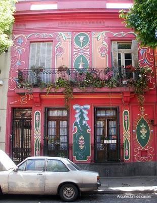 Fachadas pintadas a filete paperblog Fachadas de casas pintadas