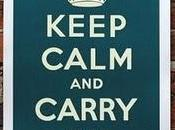 Keep calm carry