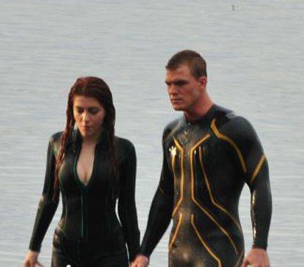Primera imagen de Aquaman y Mera en Smallville