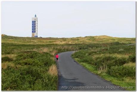 Ferrol running, otra ruta, de Campelo al Faro de Punta Frouxeira