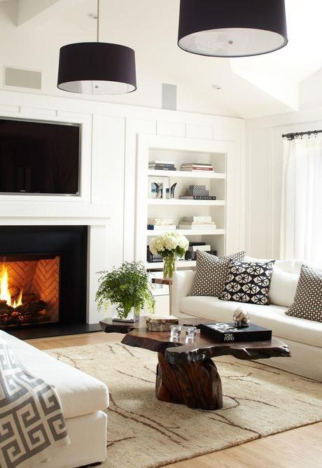 Donde colocar la tv cuando tenemos chimenea paperblog - Donde colocar una chimenea ...