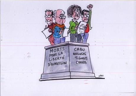 Dibujantes en el punto de mira: Todos somos Charlie Hebdo