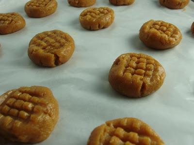 Receta de Galletas de mantequilla de maní o cacahuate