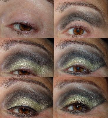 da28919d0 Maquillaje de Ojos de Fiesta, Dorado y Gris - Paperblog